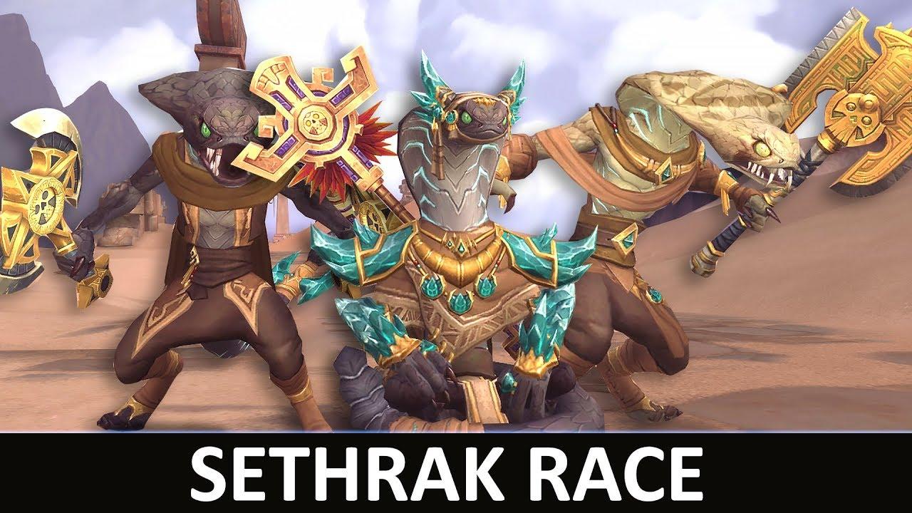Sethrak playable race when