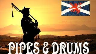 MULL OF KINTYRE ~ Pipes & Drums Royal Scots Dragoon Guards.
