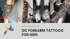120 Forearm Tattoos for Men (2019)