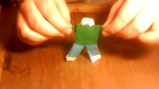 How To Make Origami Pants And Shirt
