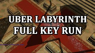 Path of Exile: Uber Labyrinth Full Key Run Commentary (Endgame Labyrinth Gameplay)