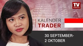 InstaForex tv news: Kalender Trader untuk September 30 – 2 Oktober : EUR dipastikan gagal?