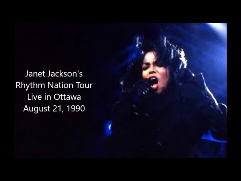 Janet Jackson - Live in Ottawa [August 21, 1990 - Full Concert]