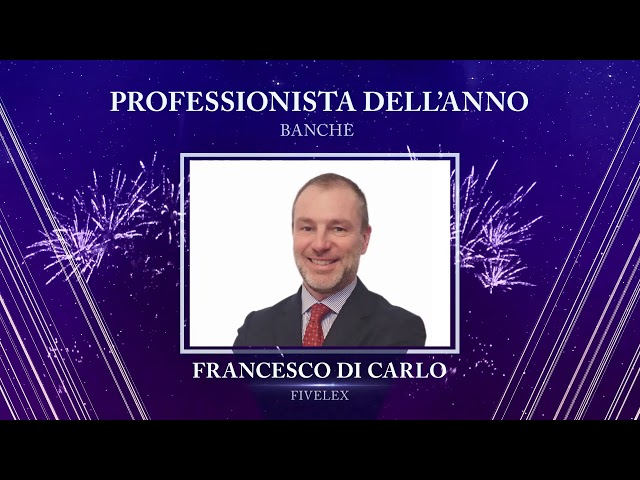 Francesco di Carlo, Fivelex - TopLegal Industry Awards