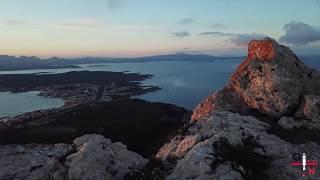 Il tramonto visto da Monte Ruju a Golfo Aranci