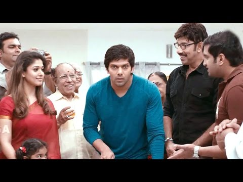 Raja Rani Scenes - Regina Suddenly Arranged John Birthday Celebration