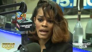 Teyana Taylor Interview with The Breakfast Club (5/7/2014)