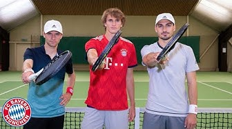 ThoMats #9   Tennis Challenge w/ Alex Zverev   Müller vs. Hummels