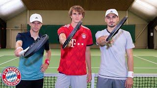 ThoMats #9 | Tennis Challenge w/ Alex Zverev | Müller vs. Hummels