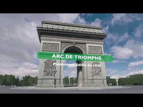 Schneider Electric Marathon de Paris 2018 - Parcours