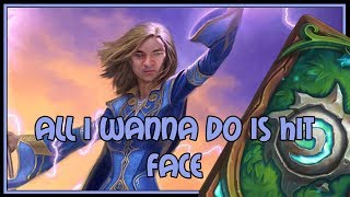 All I wanna do is hit face | Token druid | The Witchwood | Hearthstone