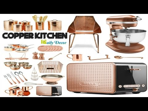 [Daily Decor] Copper Kitchen Decor