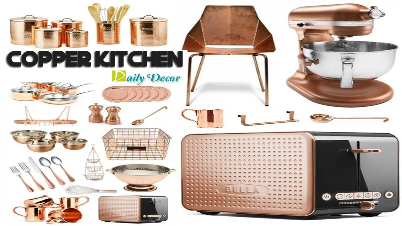 copper accessories for kitchen daily decor copper kitchen decor 5781