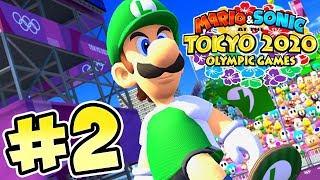 Mario & Sonic Tokyo 2020 Olympic Games !! Walkthrough # 2 ᴴᴰ