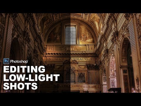 How to Edit a Low Light Photos in Photoshop - High Dynamic Range (HDR) Photography