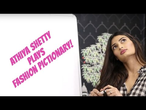 Athiya Shetty Plays A Game Of Fashion Pictionary