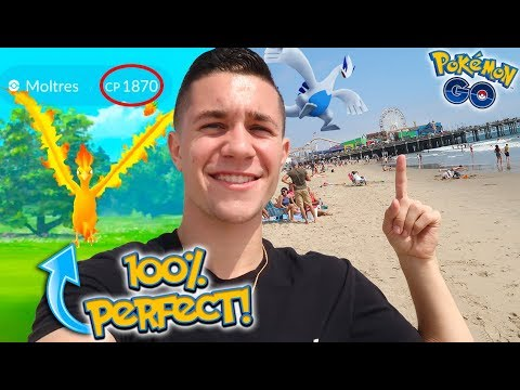 FINALLY BACK AT THE BEST PLACE ON EARTH FOR POKÉMON GO! + 100IV MOLTRES!