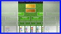 WM 2014: Der Maxi-Spielplan zum Ausdrucken