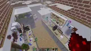 Biggest house in minecraft New Video (super ice jump)