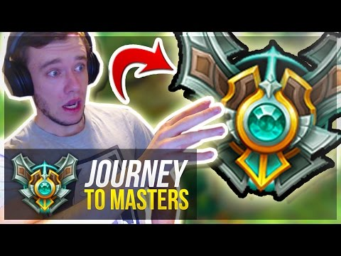 OMW TO MASTERS!! - Journey To Masters #21 S7 - League of Legends