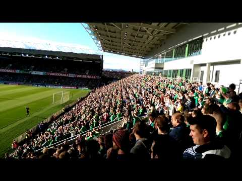 Spirit In the Sky. George Best RIP. GAWA. Northern Ireland Fans.