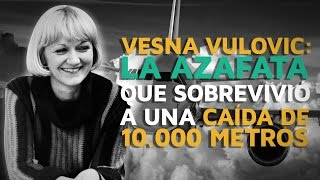 Vesna Vulovic, la azafata que SOBREVIVIÓ a una caída de 10.000 metros