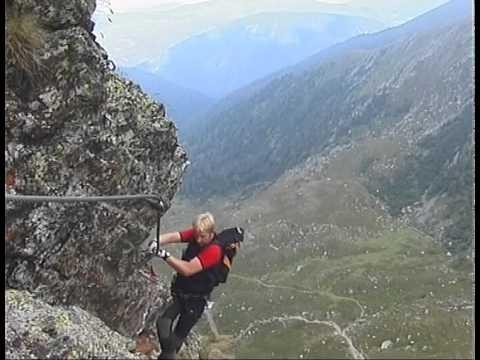 Klettersteig Falkert : Klettersteig am falkertsee falkensteig film von hubert