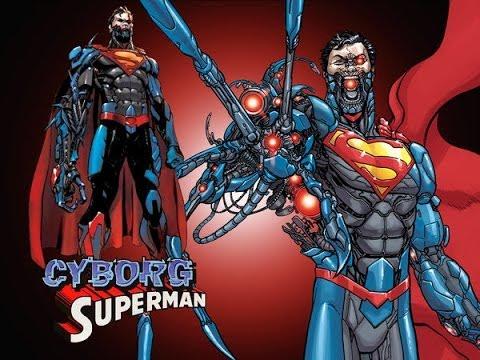 The Curse of Hank Henshaw/Zor-El The Cyborg Superman