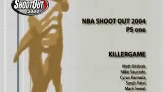NBA ShootOut 2004 (Credits - PlayStation PS PSX PS1)