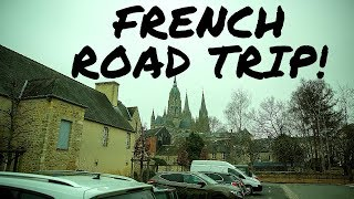Bayeux to Paris - French Road Trip and Lunch at a French Gas Station!