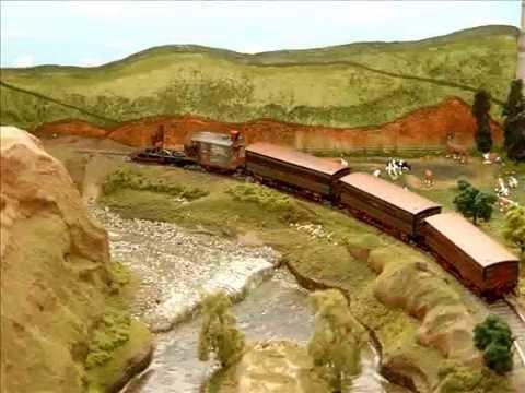 HO Gauge Railway Layout Pictorial:   DeWitt Clinton, John Bull, the Lafayette