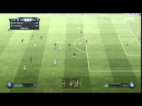 FIFA 16 Alex in love with the post, another unlucky shot