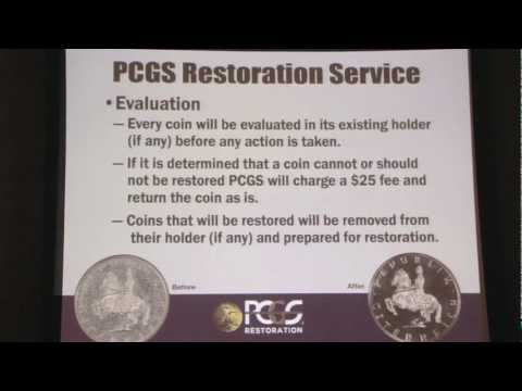 PCGS Announces Coin Restoration Service