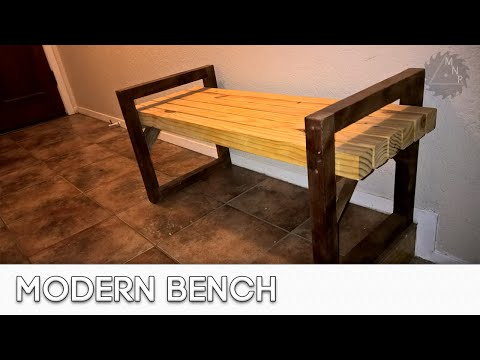 wood-working-projects:-bench