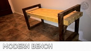 Wood Working Projects: Bench