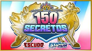 🔥 150 CURIOSIDADES y SECRETOS que NO SABIAS en Pokémon Espada y Escudo ⚔️🛡️