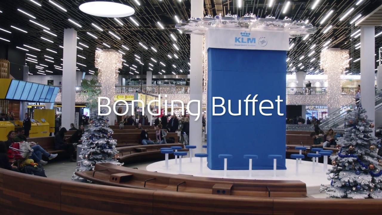 Feliz Navidad de KLM a sus viajeros
