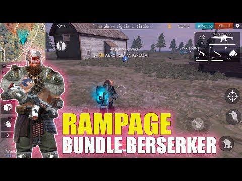Rampage Mode dan Bundle Berserker Free Fire Event Idul Adha