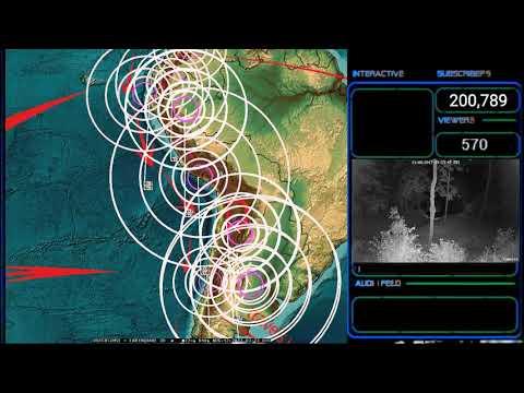 8/11/2017 -- Earthquake hits Mono Lake Supervolcano in California as expected