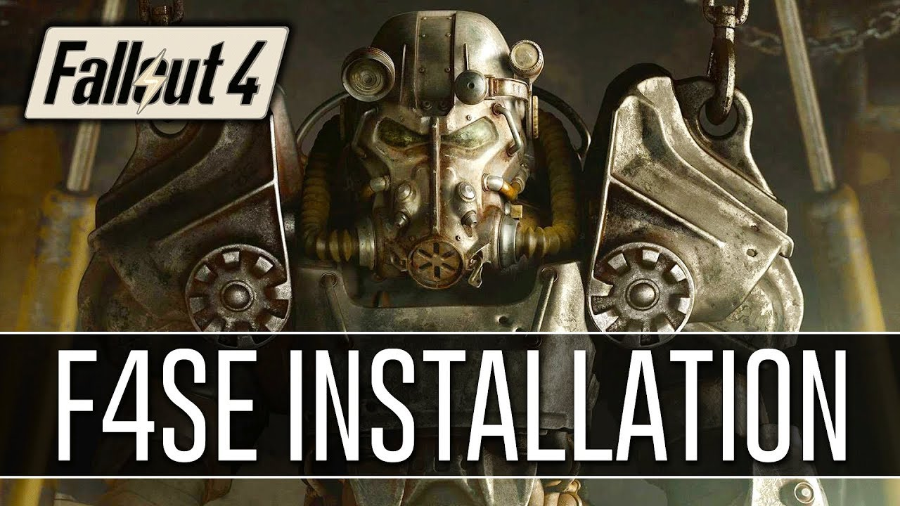 Download How to Install F4SE for Fallout 4 (2018) - Script Extender v0.6.6