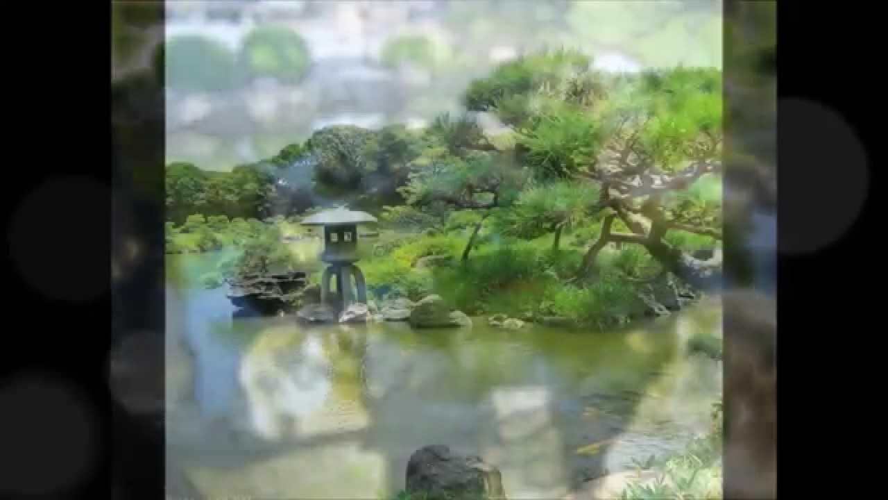 Jardin japonais youtube for Jardin youtube