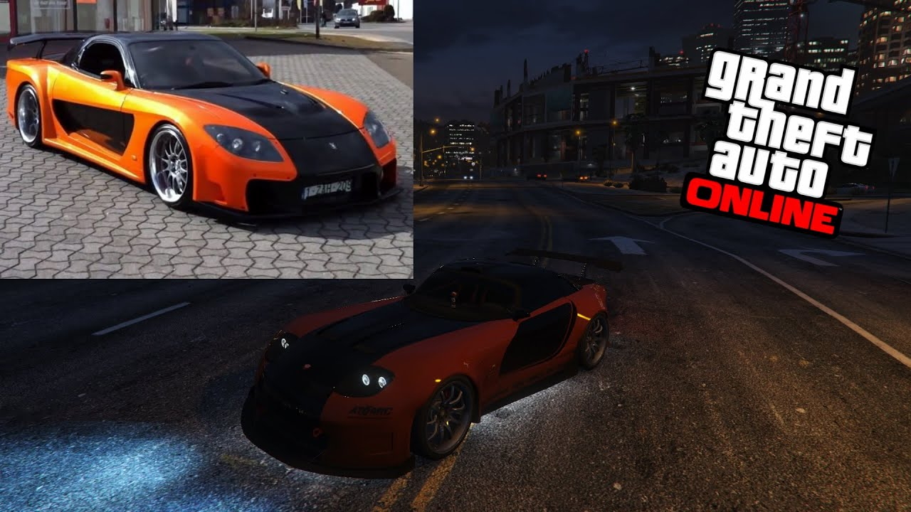 gta 5 online avoir la voiture de han mazda rx 7 youtube. Black Bedroom Furniture Sets. Home Design Ideas