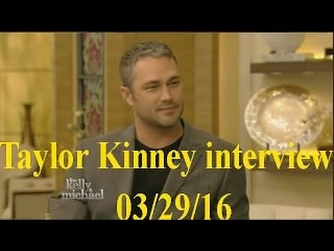 Taylor Kinney  Live! With Kelly and Michael 032916
