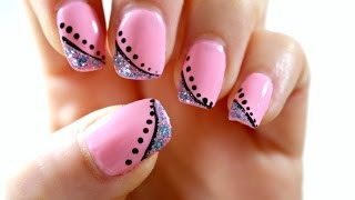 Elegant Pink Nail Art Tutorial (perfect For Short Nails)
