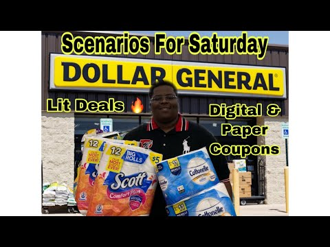 Dollar General Scenarios For Saturday 8/17 - All Digital Coupons