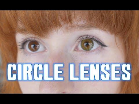 Circle Lenses 初カラーコンタクト