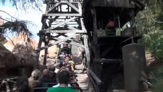 Big Thunder Mountain Railroad Roller Coaster On-Ride POV Disneyland California