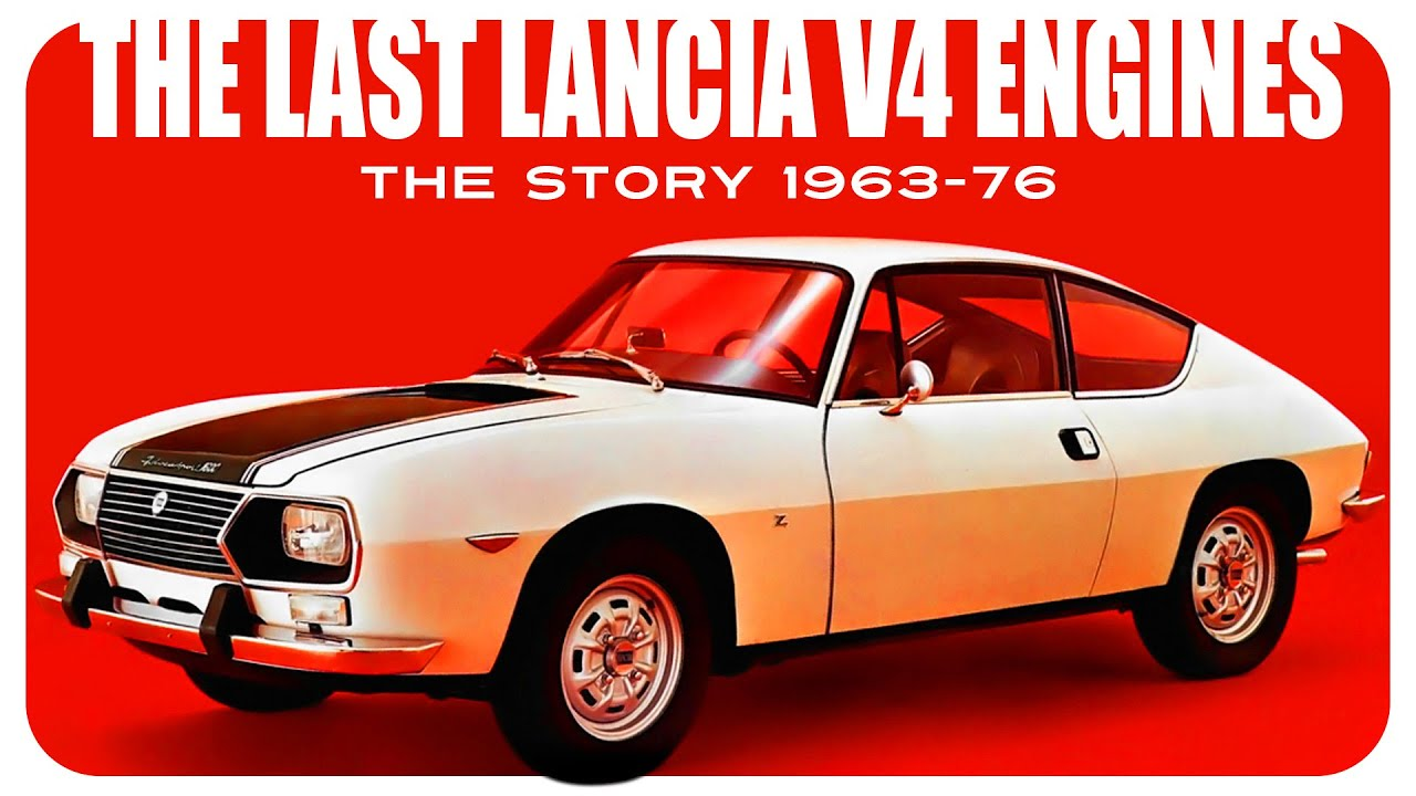 The History Of The Lancia Fulvia V4 Engines