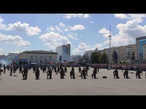 90-летие ВДВ . Показательное выступление. Минск