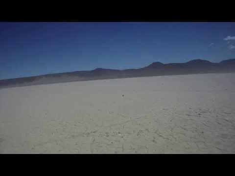 Jean lake bed, Nevada